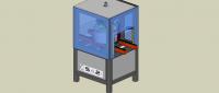 Machine d'assemblage redan sur virolle de machine à laver